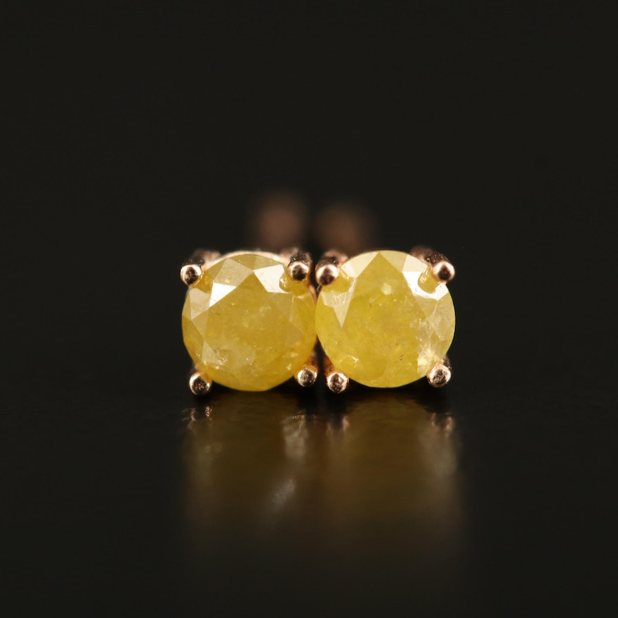 14K 0.33 CTW Diamond Stud Earrings