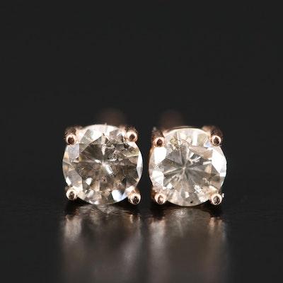14K 0.56 CTW Diamond Stud Earrings