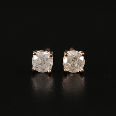 14K 0.51 CTW Diamond Stud Earrings