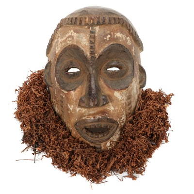 Idoma Style Wooden Mask, Nigeria