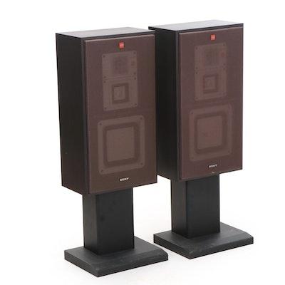 Pair of Sony APM-X300 Three-Way Floor Speakers