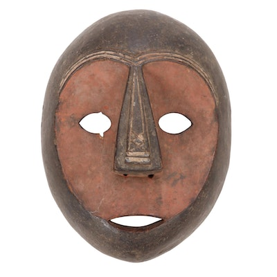 Central African Wooden Mask