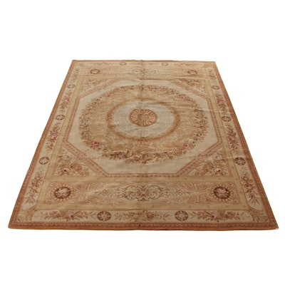10' x 14' Hand-Tufted Sino-French Savonnerie Style Floral Room Size Rug