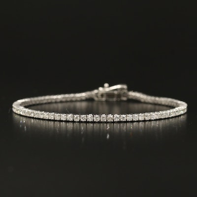 14K 2.50 CTW Diamond Tennis Bracelet