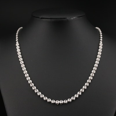 18K 1.32 CTW Diamond Necklace