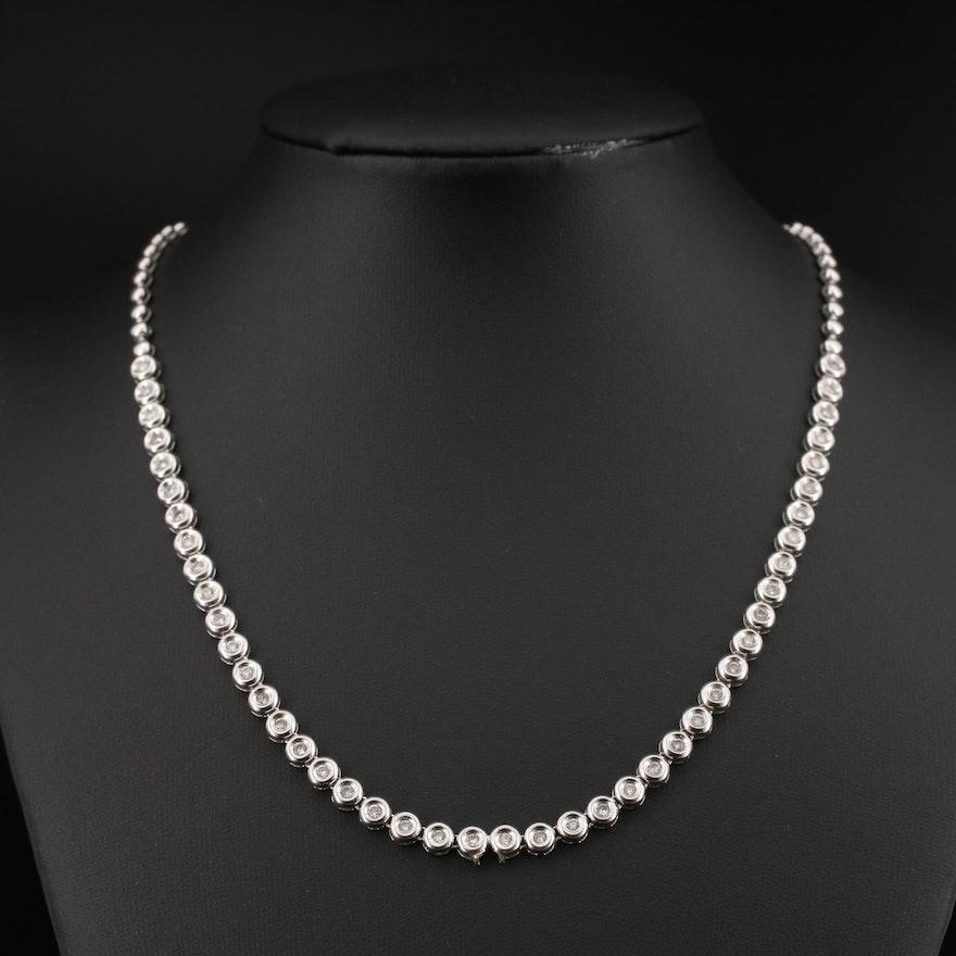 18K 1.32 CTW Diamond Necklace