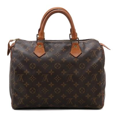 Louis Vuitton Speedy 30 in Monogram Canvas and Vachetta Leather