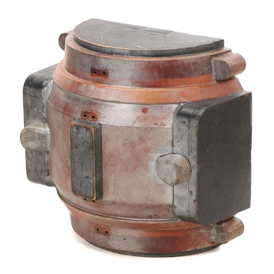 Industrial Wooden Foundry Mold