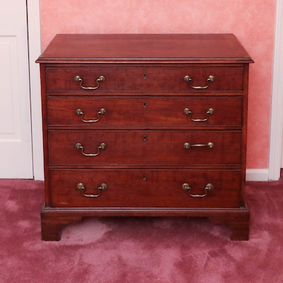 George III Mahogany Chest of Drawers, Early 19th Century