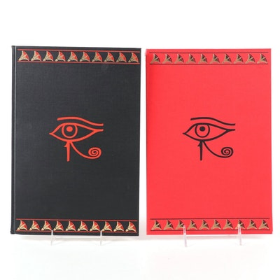 "Limited Editions Club ""The Book of the Dead"" Two-Volume Set, 1972"