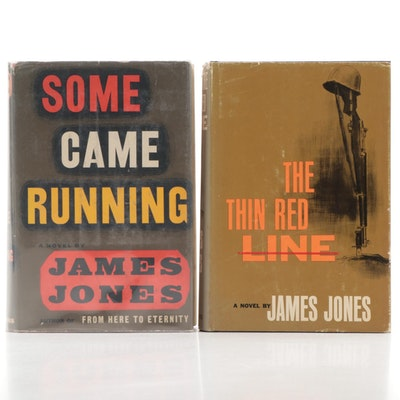 "First Edition ""Some Came Running"" and ""The Thin Red Line"" by James Jones"