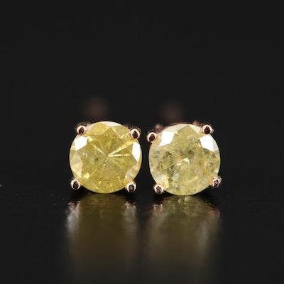 14K 0.40 CTW Diamond Stud Earrings