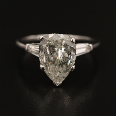 14K Diamond 3.64 CTW Ring