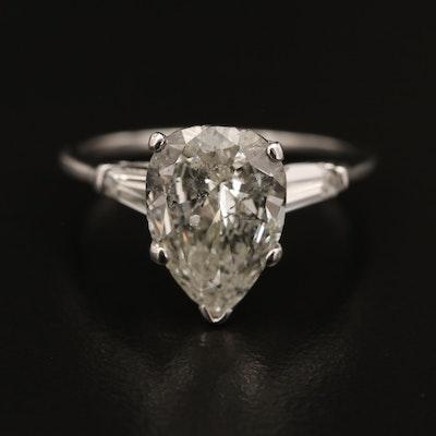 14K Diamond 3.64 CTW Ring