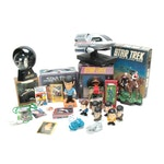 Star Trek Collectible Game, Lunchbox, Figures, Playing Cards, and More
