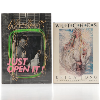 "Masao Gozu ""Just Open It"" and Erica Jong's ""Witches"" Books"