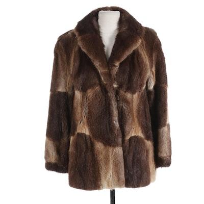 Lazarus Muskrat Fur Coat