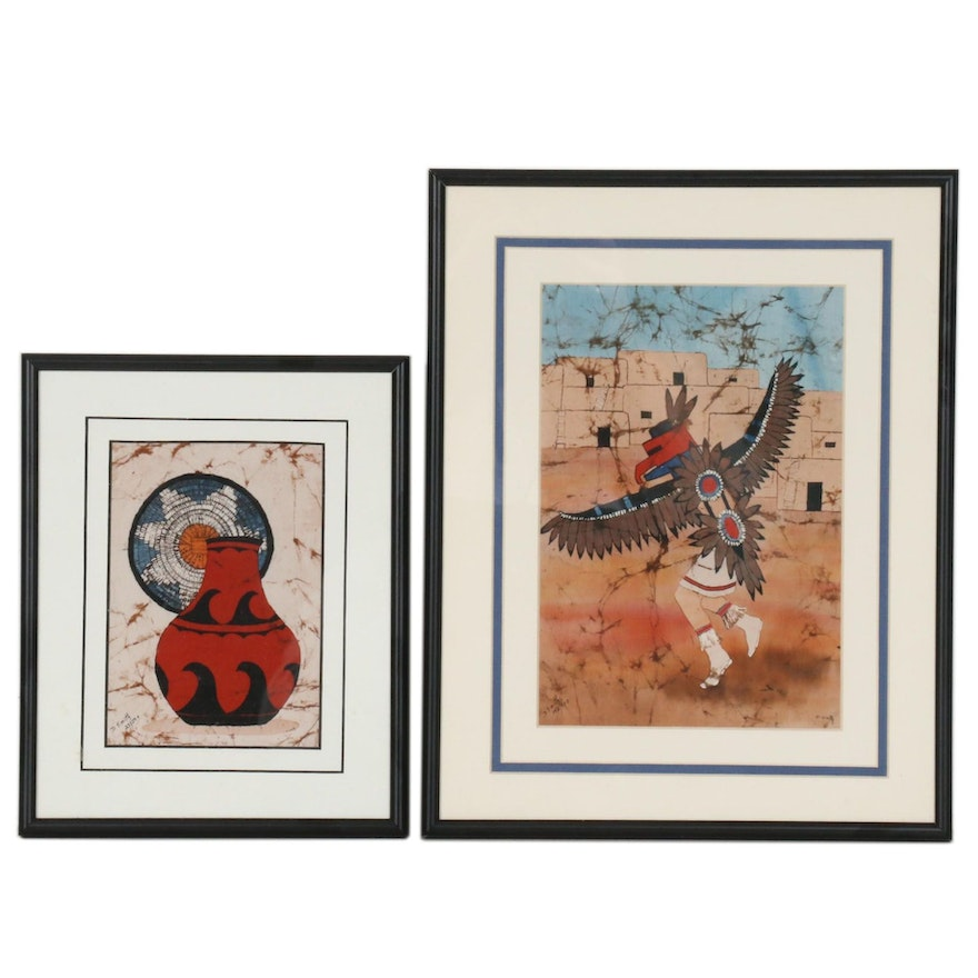 Dorothea Travers-Smith Digital Prints of Southwestern Style Compositions