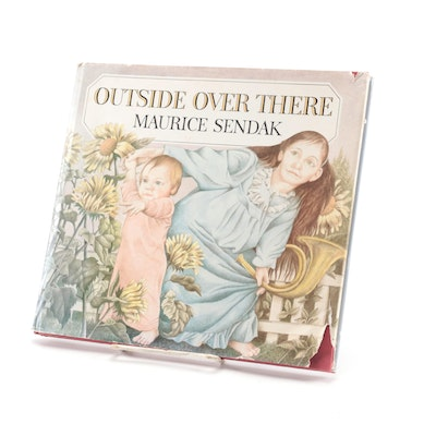 "Signed First Edition ""Outside Over There"" by Maurice Sendak, 1981"