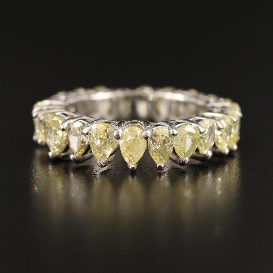 Platinum 4.02 CTW Diamond Eternity Band