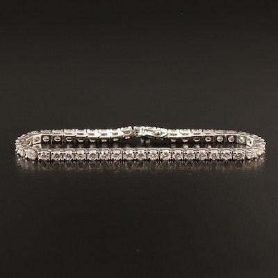 14K 5.21 CTW Diamond Line Bracelet