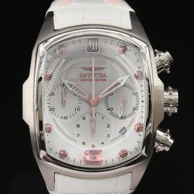 Jason Taylor for Invicta Stainless Steel Ltd. Edition French Quartz Wristwatch
