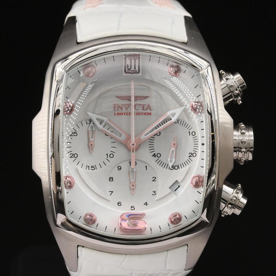 Jason Taylor for Invicta Stainless Steel Ltd. Edition French Quartz Wristwatch