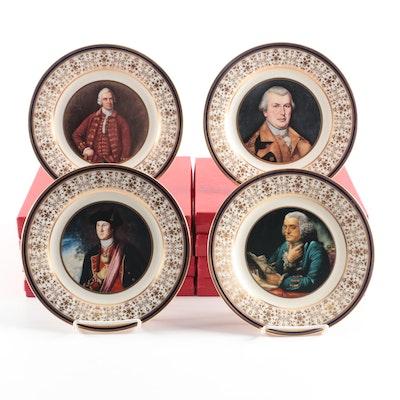 "U.S. Bicentennial Society ""Patriot Series 1974"" Collectors Plates"
