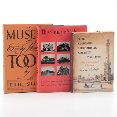 """Signed """"A Museum of Early American Tools"""" by Eric Sloane and More"""
