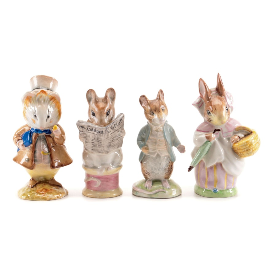 Beatrix Potter Ceramic Character Figurines