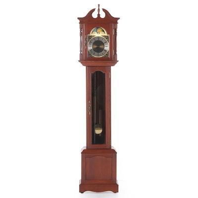 Emperor Clock Company Grandfather Clock, Mid-20th Century
