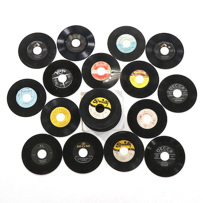 The Animals, The Beatles, Bing Crosby, Little Richard and More 45 Vinyl Records