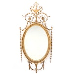 Neoclassical Gilt Composition and Wood Wall Mirror, Late 18th Century
