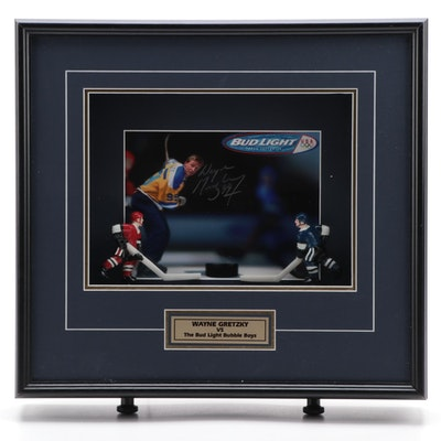 "Wayne Gretzky Signed ""Bud Light Bubble Boys"" with WG Authentic COA, 2001"