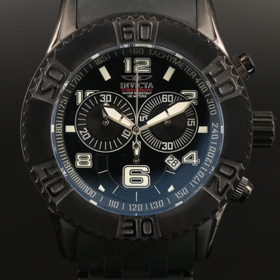Invicta Sea Spider Chronograph Stainless Steel Quartz Wristwatch