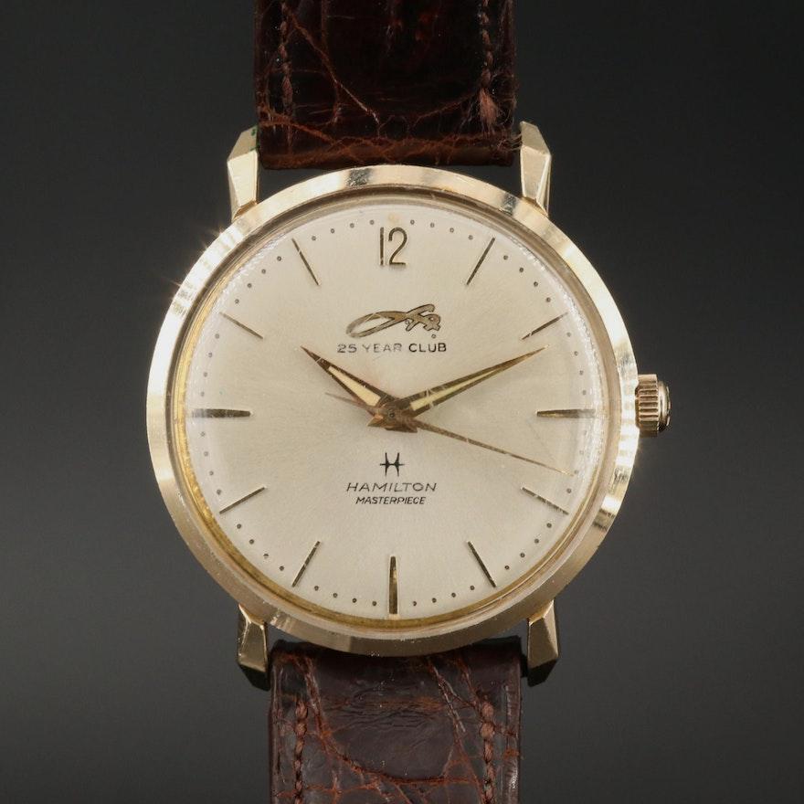 Vintage Hamilton Masterpiece Louis Allis Co. Service Award Wristwatch