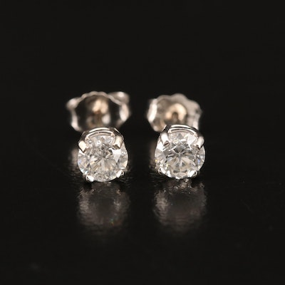 14K 0.74 CTW Diamond Stud Earrings