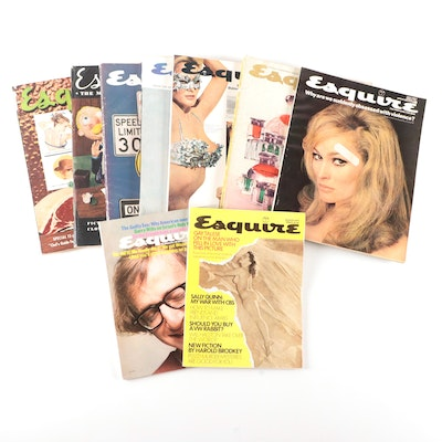 """""""Esquire, The Magazine For Men"""" Including the """"Famous Christmas Annual, 1956"""""""