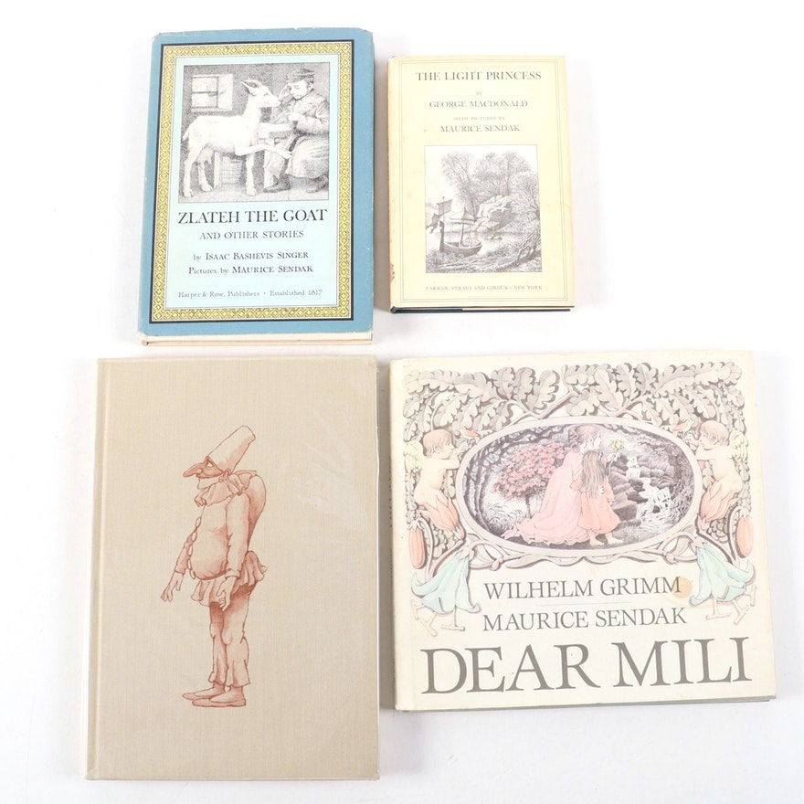 "Maurice Sendak Illustrated Books Including ""Light Princess"" by George MacDonald"
