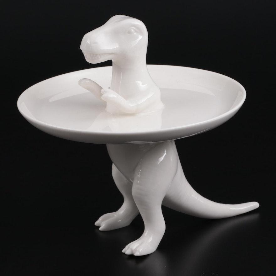 Lana Filippone for Imm Living Dinosaur Tribe T-Rex Cake Plate
