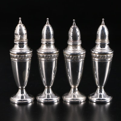 Weighted Sterling Silver Shakers, Mid-20th Century