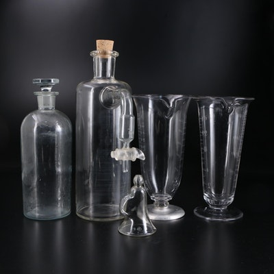Kimax, TCW Co. and Other Scientific Laboratory Glassware, Early to Mid-20th C.