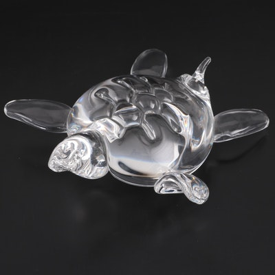 "Steuben Glass Figurine ""Sea Turtle"""