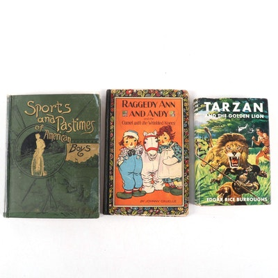 """Sports and Pastimes of American Boys"" and More Children's Books"