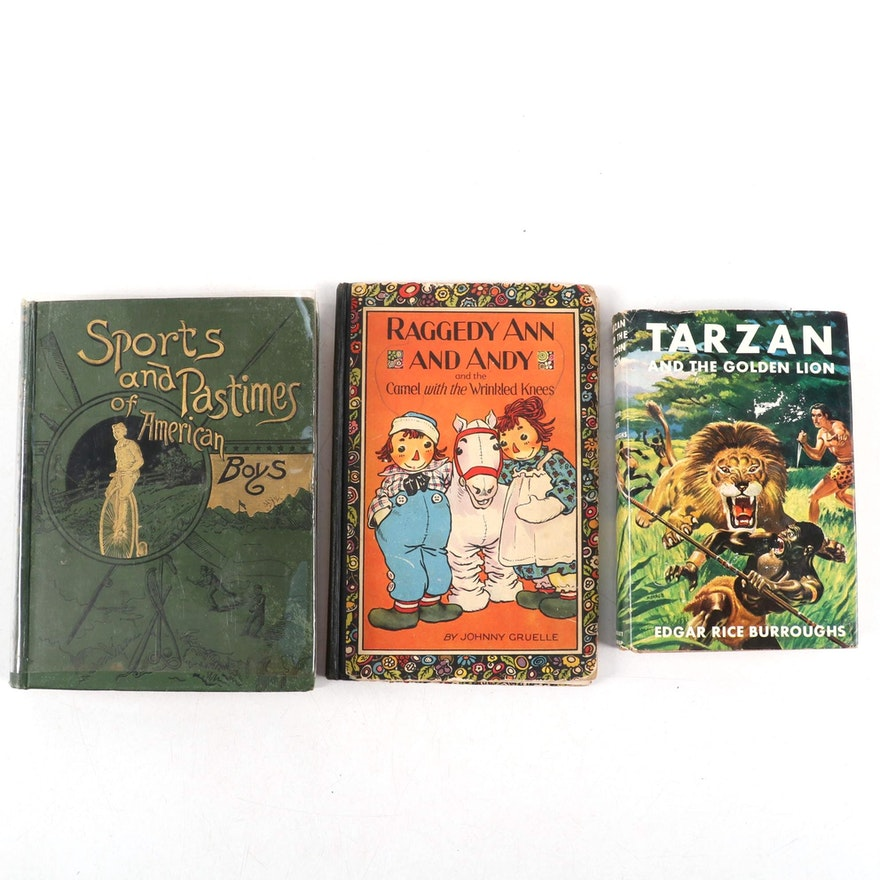 """""""Sports and Pastimes of American Boys"""" and More Children's Books"""