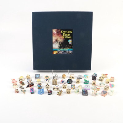 """Kentucky Derby Festival. 50 Years of Fun"" Limited Edition Book with Pinbacks"