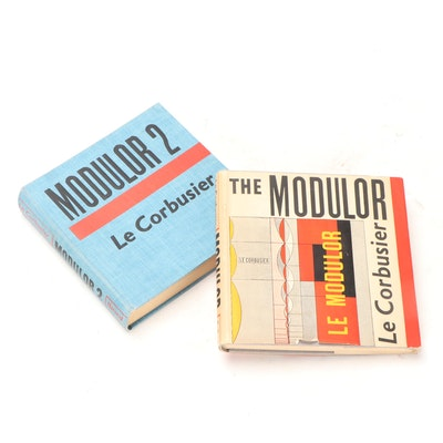"Le Corbusier's ""The Modulor"" Volumes 1 and 2, Mid-20th Century"