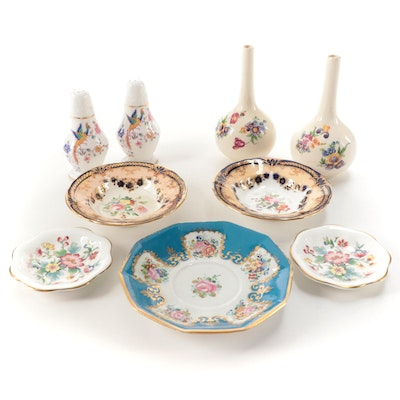 "Coalport ""Ming Rose"", Hammersley and Other Table Accessories and Dinnerware"