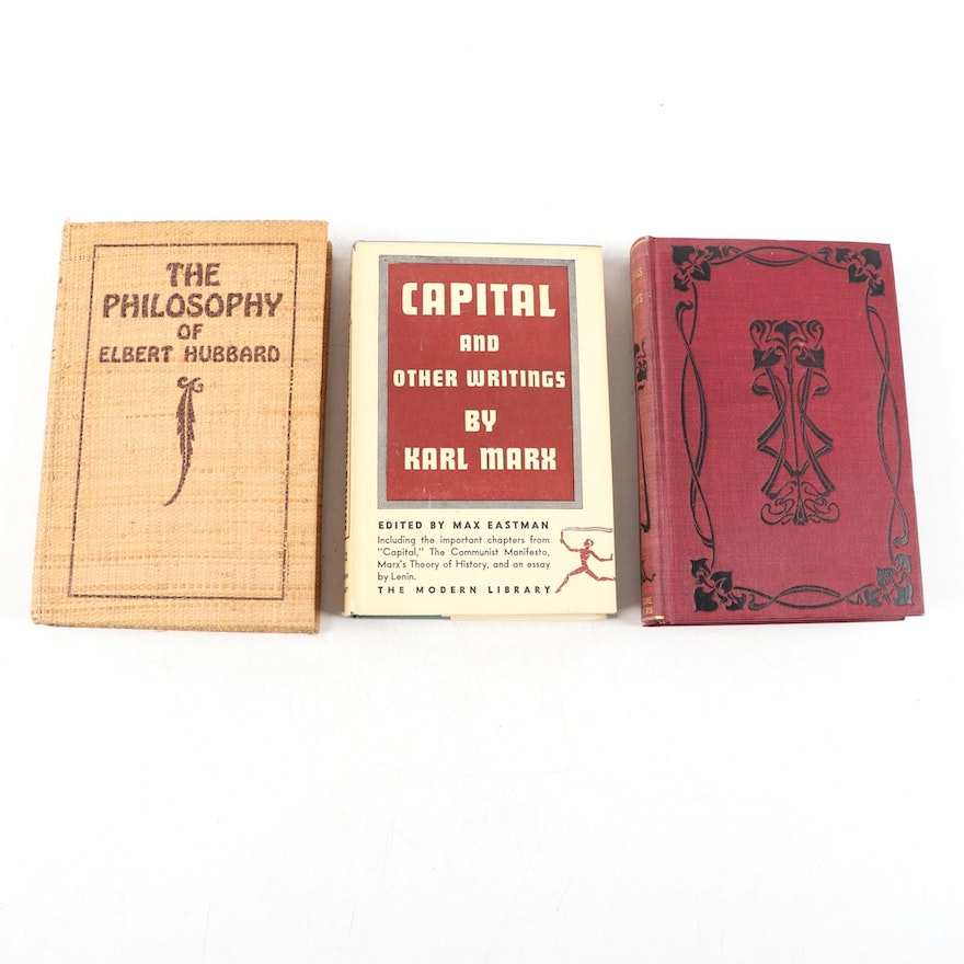 """Signed Limited Edition """"The Philosophy of Elbert Hubbard"""" and More"""