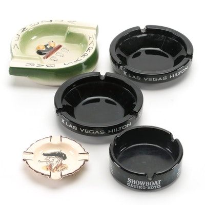 Ceramic Souvenir Ashtrays